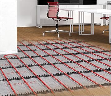 floortec verlegeschienensystem von vogel noot. Black Bedroom Furniture Sets. Home Design Ideas