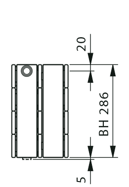 KK-S connection dimensions
