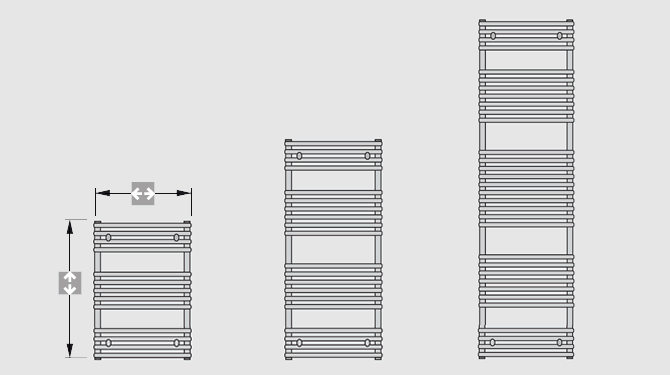 STANDARD CURVED overview of models