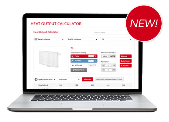 Heat-Output-Calculator