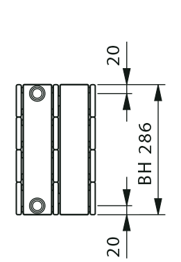 KK connection dimensions
