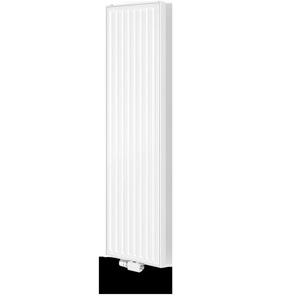 Radiatore verticale attacco centrale di vogel noot for Radiatori a piastra