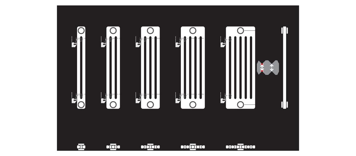 Radiatoare laserline de la vogel noot for Radiatori dwg