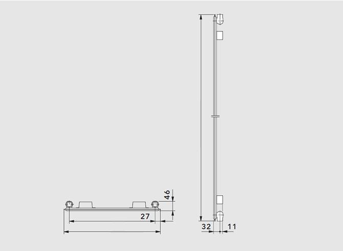 Вертикальный радиатор ТИП 10