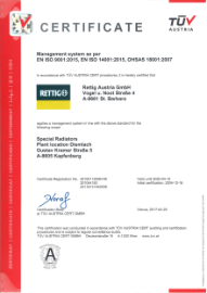 Certification Diemlach